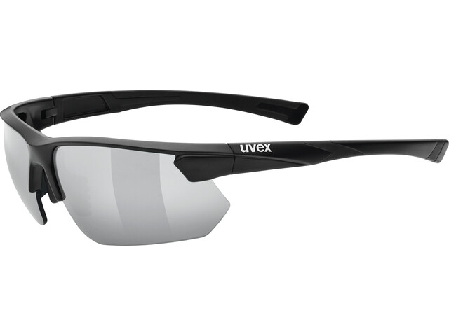 UVEX Sportstyle 221 Occhiali, black mat/silver